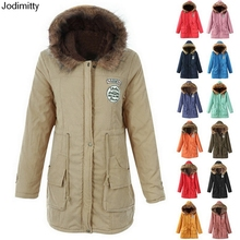 Womens Long Hooded Winter Coats Warm Outwear Park