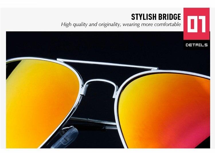 Classic Polarized Sunglass Designer Famous Vintage Pilot Sunglasses Lady Mirror Driving Sun Glasses For Women Men Fashion Shades (22)