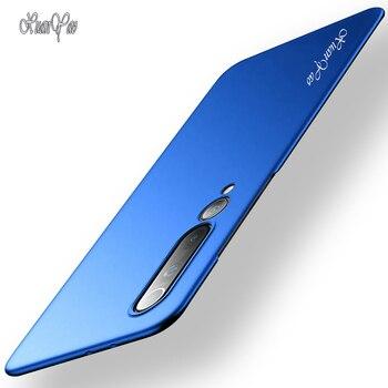 Mi 10 Pro Caso XUNAYAO Moda Slim Glassata Per Il Caso di Xiaomi Mi 10 Ultra Copertura di Caso Duro Opaco Della Copertura Posteriore xiomi Mi 10 Lite 10 Pro