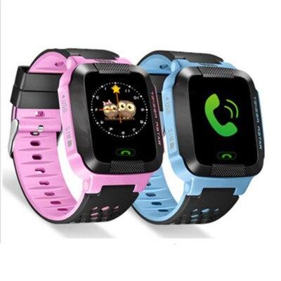 Children Phone Smart Watch GPS Tracker Smartwatch Kids Camera Flashlight SOS Call Location Toys For Baby Boys Girl Birthday Gift