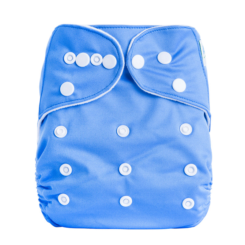Reusable Cotton Baby Pocket Cloth Diaper Retail Prefold Baby Cloth Diapers Pants A5