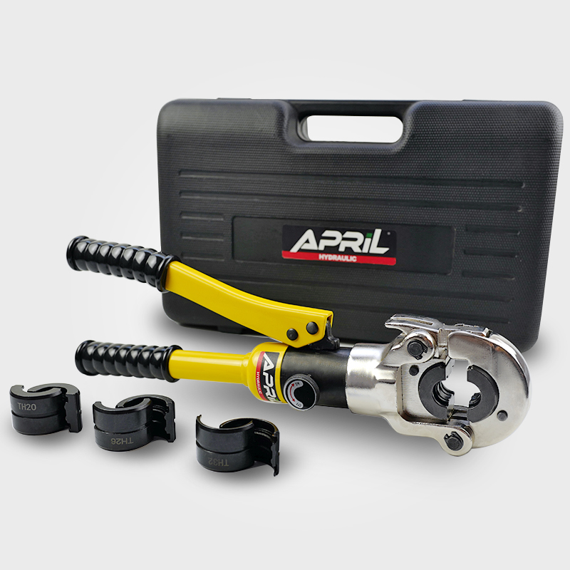Hydraulic Pex Clamping Tools AG 132TH for connecting PEX pipe fitting PB pipe copper AL with dies of TH16,20,26&32mm-in Hydraulic Tools from Tools on