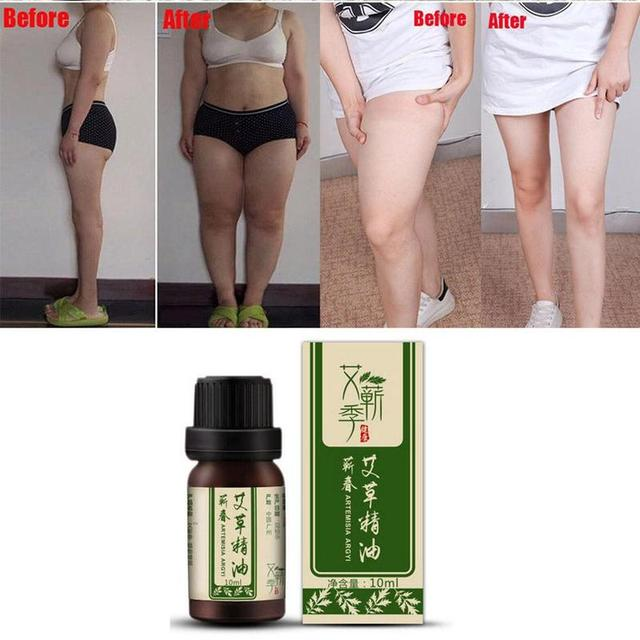 Artemisia Essential Oil Relieves Tiredness Headaches Massage For Body Relax Slimming Creams Anti Cellulite Fat Burning Gel 10ml 4
