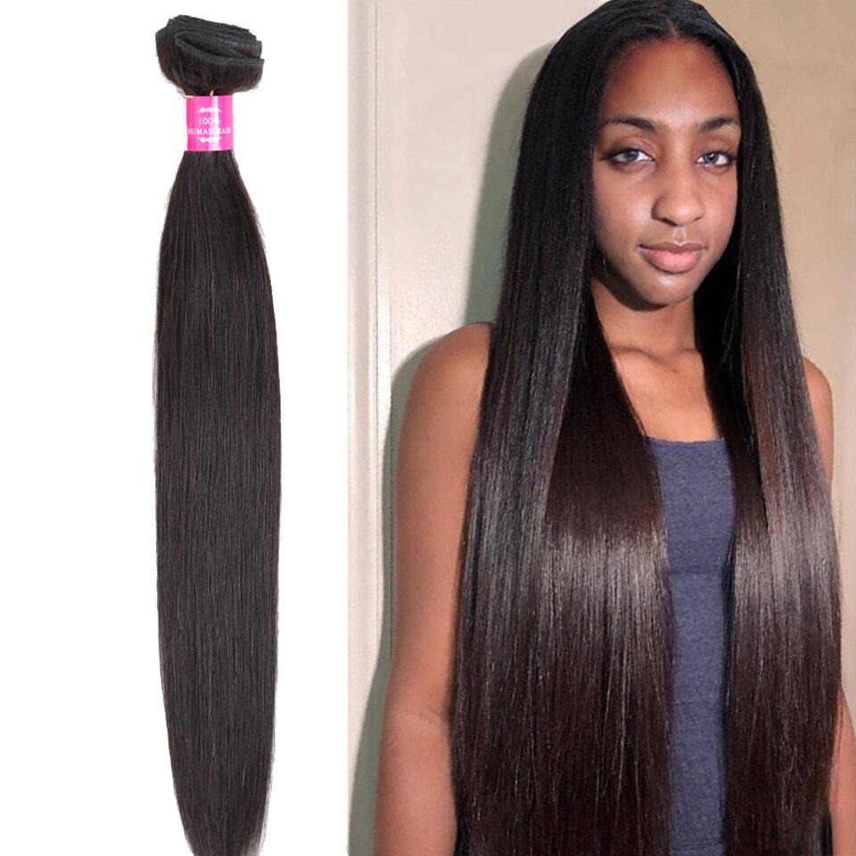 Fashow Human Hair 8-40 Inch Straight Hair 1/3/4 Bundles Peruvian Hair Natural Hair Weave Good Remy Hair Extensions Factory Store