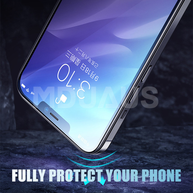 9999D Full Cover Glass For iPhone 11 12 Pro XS Max X XR 12 mini Screen Protector iPhone 8 7 6 6S Plus Tempered Glass Film Case 4