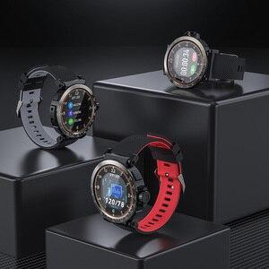 Image 5 - BlitzWolf BW AT1 reloj inteligente Dymanic con pantalla táctil, control del ritmo cardíaco, la presión sanguínea y el oxígeno