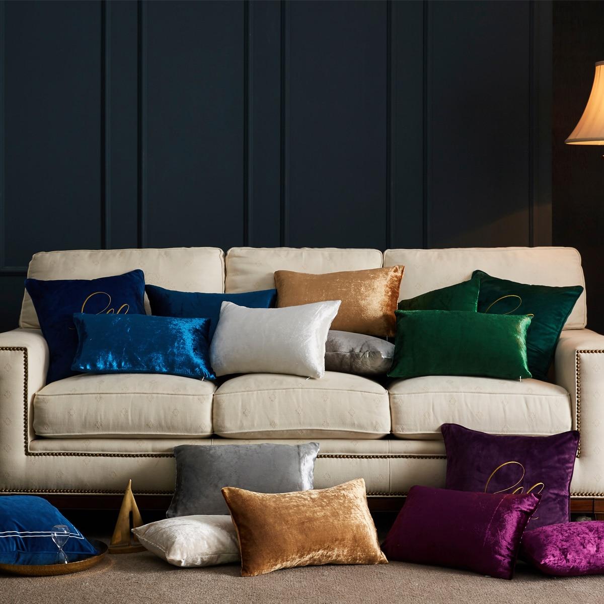 כריות בצבע שמפניה לסלון או חדר השינה 93