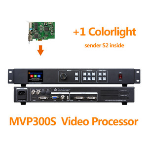 Image 4 - SDI معالج الفيديو MVP300S مع كامل اللون led إرسال بطاقة ts802d msd300 s2 t901 في شاشة ليد داخلية p5