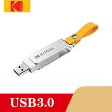 Kodak флеш-накопитель USB 3,0 металлический USB флеш-накопитель 16 ГБ 32 ГБ 64 Гб карта памяти USB 2,0 128 ГБ U диск 256 ГБ Флешка USB флешка