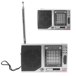 Image 1 - KK 9803 FM/MW/SW1 8 Full 10 Band Hi Sensitivity Radio Receiver With Folding Kickstand