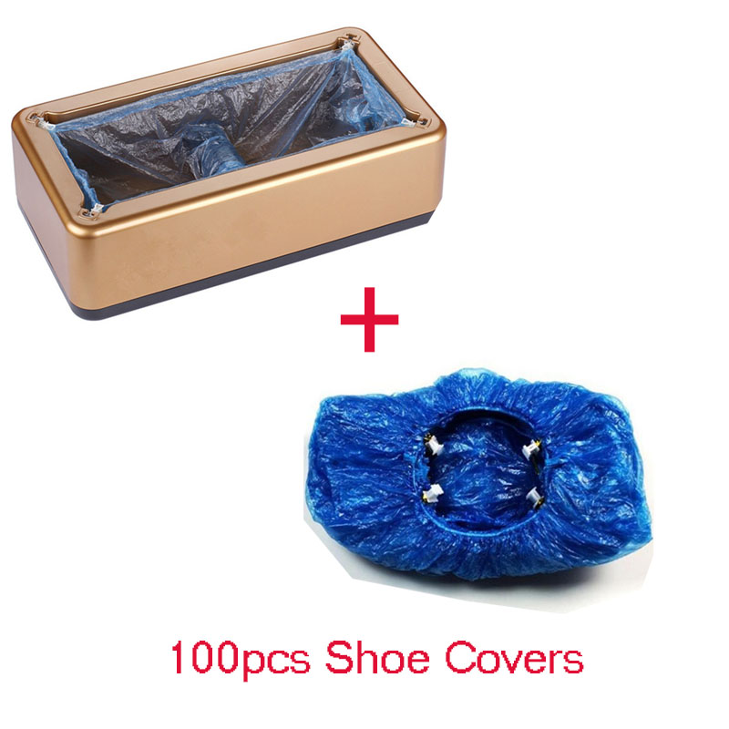 Automatic Shoe Cover Machine Intelligent Shoe Sleeve Tool Disposable Foot Cover Machine Shoe Film Device With Shoe Cover
