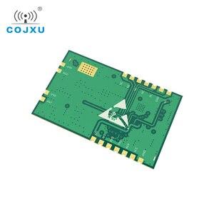 Image 3 - SX1268 LoRa TCXO 433MHz 30dBm E22 400T30S SMD UART Draadloze Transceiver IPEX Stempel Gat 1W Lange Afstand Zender en ontvanger