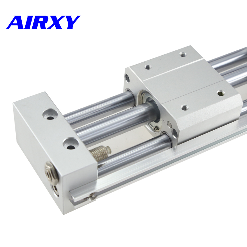CY1S rodless cylinder pneumatic magnetically coupled cylinder slider type bore 6/10/15/20mm stroke 100-500mm CY1S6-100