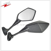 مرآة سباق الدراجات النارية ، مرآة الرؤية الخلفية ، لـ Kawasaki Ninja 250 300 500 R ZX6R ZX9R ZX10R ZX14R