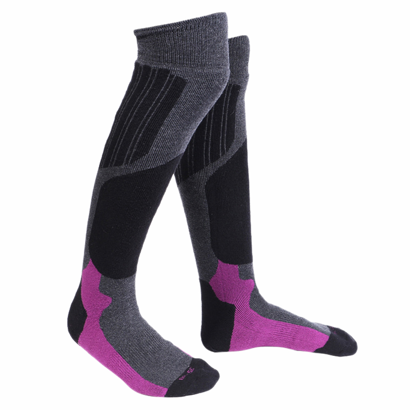Ski Socks For Men And Women-Thickening Warm Outdoor Sports Stocking For Skiing Hiking Snowboard