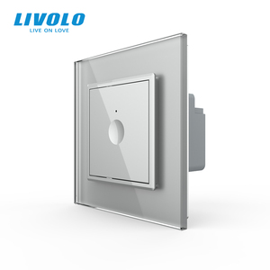 Image 3 - Livolo EU Standard  New Series Wall Touch Switch,1 Gang 1Way Touch, AC 220 250 ,4 colors options,plastic key