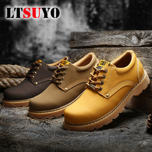Martin-Shoes Outdoor Men's Casual Fashion And Tooling Couple Motorcycle