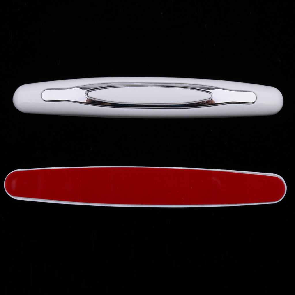 4PCS Universal Car Styling Flexible Door Edge Protector Bumper Black White Clear Car Door Anti Collision Guard