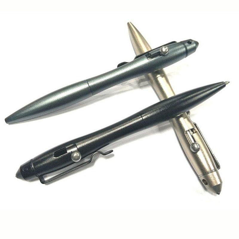 Aviation Aluminum Tactical Pen Glass Breaker Self-defense Emergency Tool Outdoor Portable Self Guard Personal Security Supplies