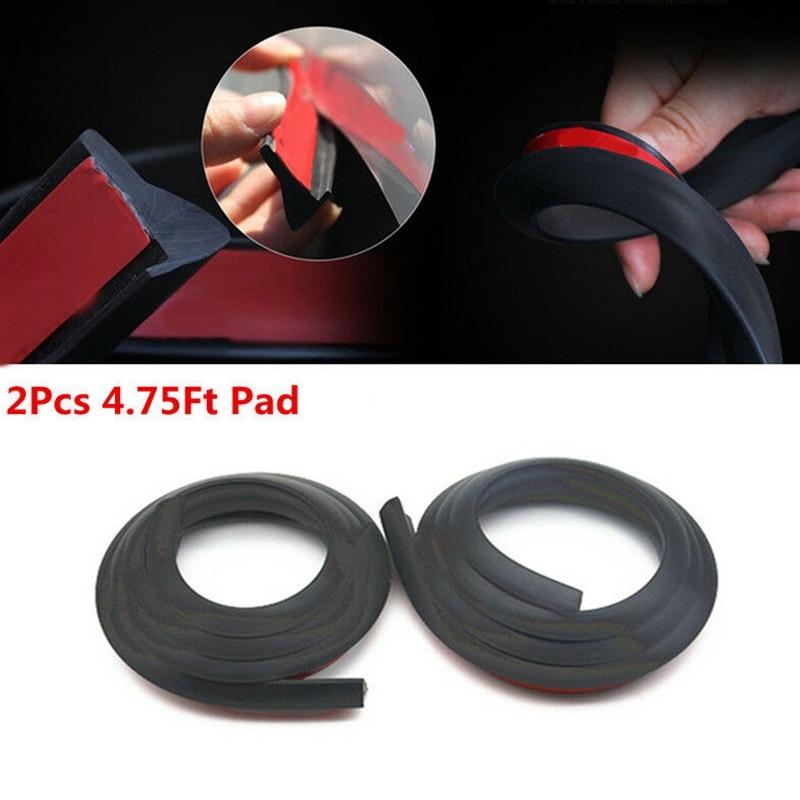 Универсальный удлинитель крыла автомобильного колеса 2x1,5 м, резиновый молдинг, протектор отделки