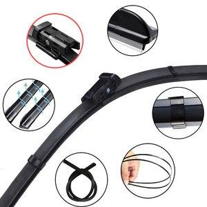 Image 4 - Para skoda fabia 3 nj 2015 2016 2017 2018 2019 2020 mk3 acessórios do carro frente windscreen limpador lâminas escovas cortador peças de automóvel