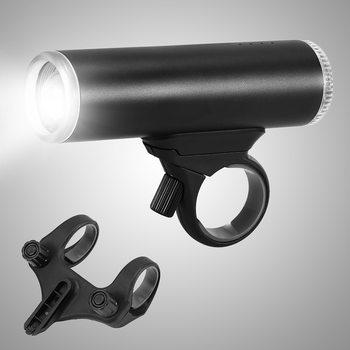 2019 Nieuwe Bike Front Light Oplaadbare Fiets Voor Zaklamp Lichtgewicht Fiets Koplamp Eenvoudige Installatie Fiets Lamp