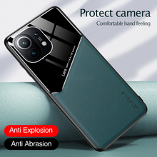 Magnetic Shockproof Phone Case For Xiaomi Mi 11 Lite Soft Flip Back Covers On Xaomi Xiomi Xiami My 11 Ultra 10s Mi11 Shell Armor