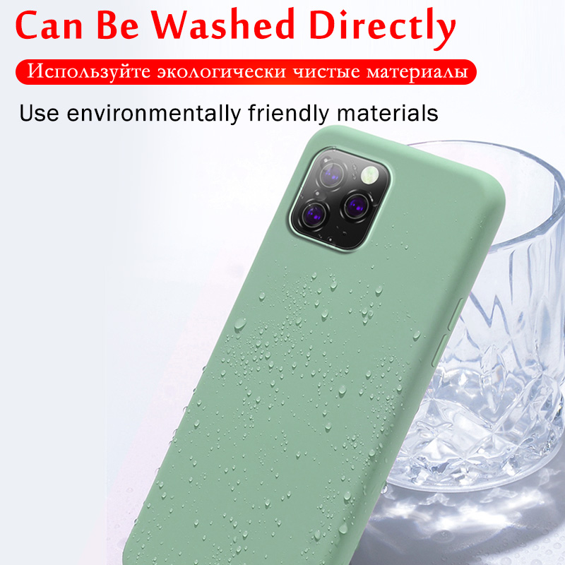 Luxury Liquid Silicone Bumper Phone Case For iPhone 11 Pro X XS Max 4