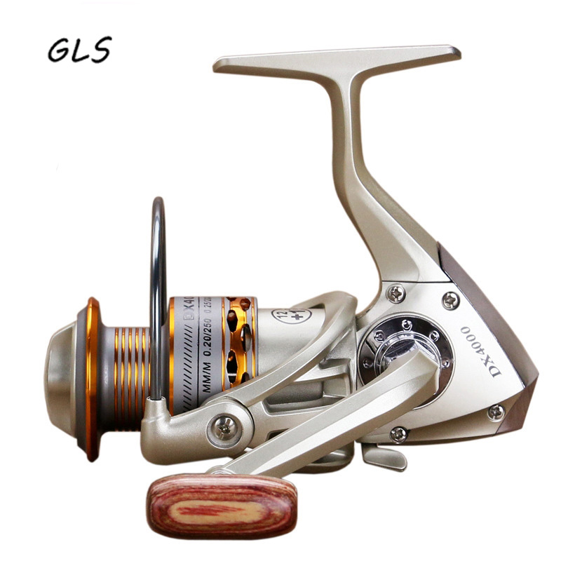 2020 New  Fishing coil Wooden handshake 12+ 1BB Spinning Fishing Reel Professional Metal Left/Right Hand  Fishing Reel Wheels