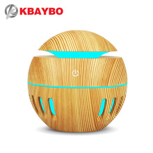 130ml USB Ultrasonic Cool Mist Humidifier Aroma Diffuser  Air Purifier with 7 Color LED Changing Night Lights for Office or Home