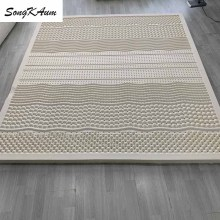 Slow-Rebound Mattresses Tatami Latex Foldable 100%Natural Cotton-Cover Songkaum