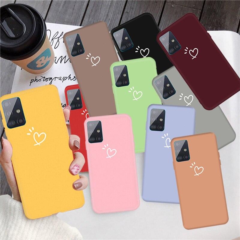 For Cover Samsung Galaxy A51 Case For Samsung A51 Coque Cover For Samsung A01 A11 A30 A50 A70 Note 10 S20 Ultra A71 A51 Fundas