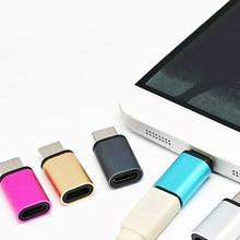 Type-C адаптер USB C к Micro USB кабель из сплава Micro USB штекер к type C Женский адаптер конвертер Разъем для телефона планшета