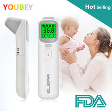 Bébé thermomètre infrarouge numérique LCD mesure du corps front oreille sans Contact adulte corps fièvre IR enfants Termometro(China)