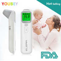 Baby Thermometer Infrared Digital LCD Body Measurement Forehead Ear Non-Contact Adult Body Fever IR Children Termometro