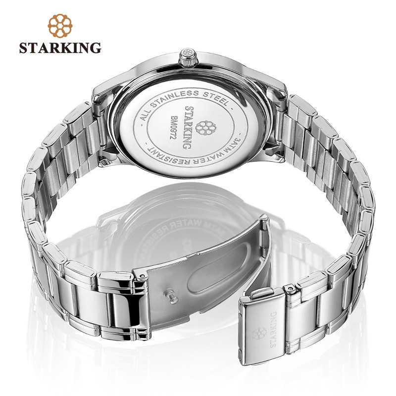 Image 5 - Starking Brand Mens Quartz Watch Imported Japan Movement Watch 316l Stainless Steel Auto Date Fashion Casual Men Watch BM0972watch brandwatch stainlesswatch stainless steel -