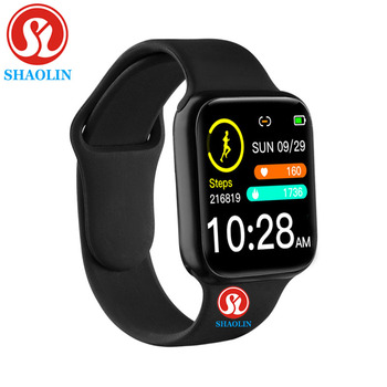 38mm Smart Watch Heart Rate Blood Pressure Bluetooth Man Woman Smartwatch for Apple Android Phone PK IWO Waterproof Watches цена 2017
