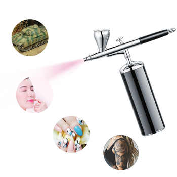 Rechargeable compressor kit High pressure electric mini handhold cosmetics airbrush scale models makeup nail art compressor set - DISCOUNT ITEM  20 OFF Tools