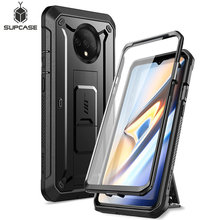 For One Plus 7T Case SUPCASE UB Pro Heavy Duty Full Body Holster Cover with Built in Screen Protector For OnePlus 7T (2019)