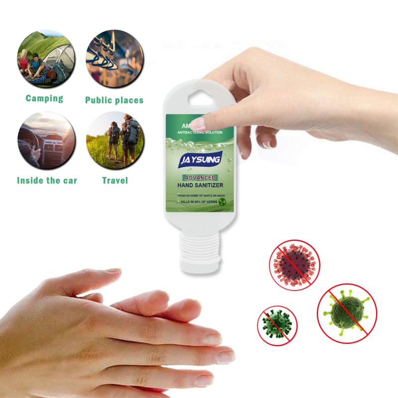 Portable Disposable Hand Sanitizer with Hook Disposable Disinfection Sterilization Hand Soaps Hand Sanitizer Gel Cleaner TSLM2