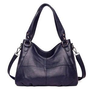 Image 1 - Moda hakiki deri çanta bayanlar büyük kapasiteli tasarımcı büyük Tote çanta kadınlar için lüks omuzdan askili çanta bayan çanta