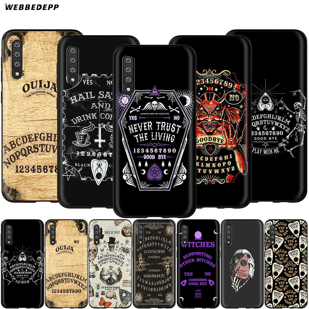 Ouija Board Case for Samsung Galaxy S7 S8 S9 Webbedepp S10 Plus Nota Borda 10 8 9 A10 A20 A30 A40 A50 A60 A70