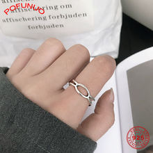 Pofunuo винтажное овальное кольцо из стерлингового серебра 925