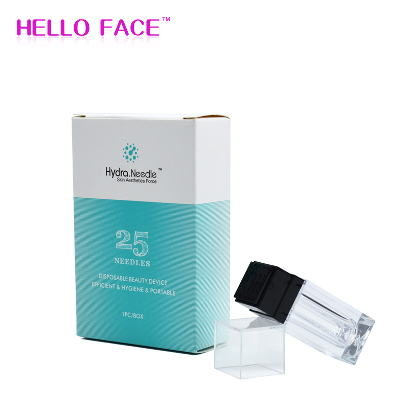 Hydra Needle 25 Pins New Design Derma Stamp Microneedle Therapy Hydra Needle For Skin Rejuvenation