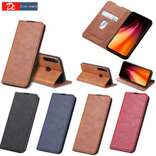 Leather Flip Magnetic Case For Xiaomi Redmi Note 8 7 Pro 6 6A 8T 7A 8A Wallet Cards Stand Phone Protect Cover Coque
