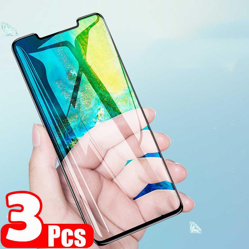 2 3 stück 15D Schutz Gehärtetem Glas Für HUAWEI P20 Pro P30 Lite Mate 10 20 Lite P20Lite P30Lite Volle screen Protector Film