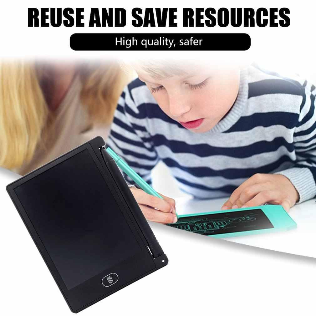 4.4 polegada lcd escrita tablet eletrônico almofada de escrita tela lcd digital gráfico desenho tablet almofadas escrita educacional