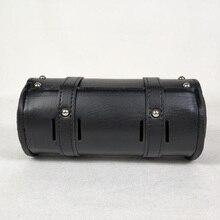 1x мотоциклетный руль Сисси барная сумка седельная сумка вилка рулон баррель сумка для Harley