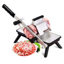 Manual beef slicer home planing meat machine small cut frozen meat machine vegetable slicer three color optional c meat cutting machine mini meat slicing machine small meat slicer