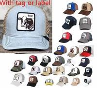 GOORIN BROS-gorra de béisbol con bordado de animales para hombre, gorro de béisbol con bordado de animales, malla bordada, hats-A1